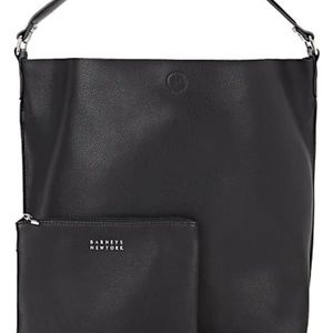 Barneys New York Ann Hobo bag black